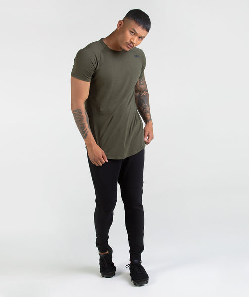 Gymshark Construction T-Shirt - Alpine Green 2