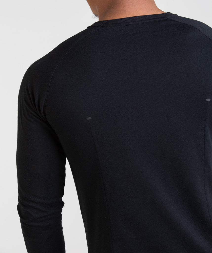Gymshark Construction Long Sleeve T-Shirt - Black 5
