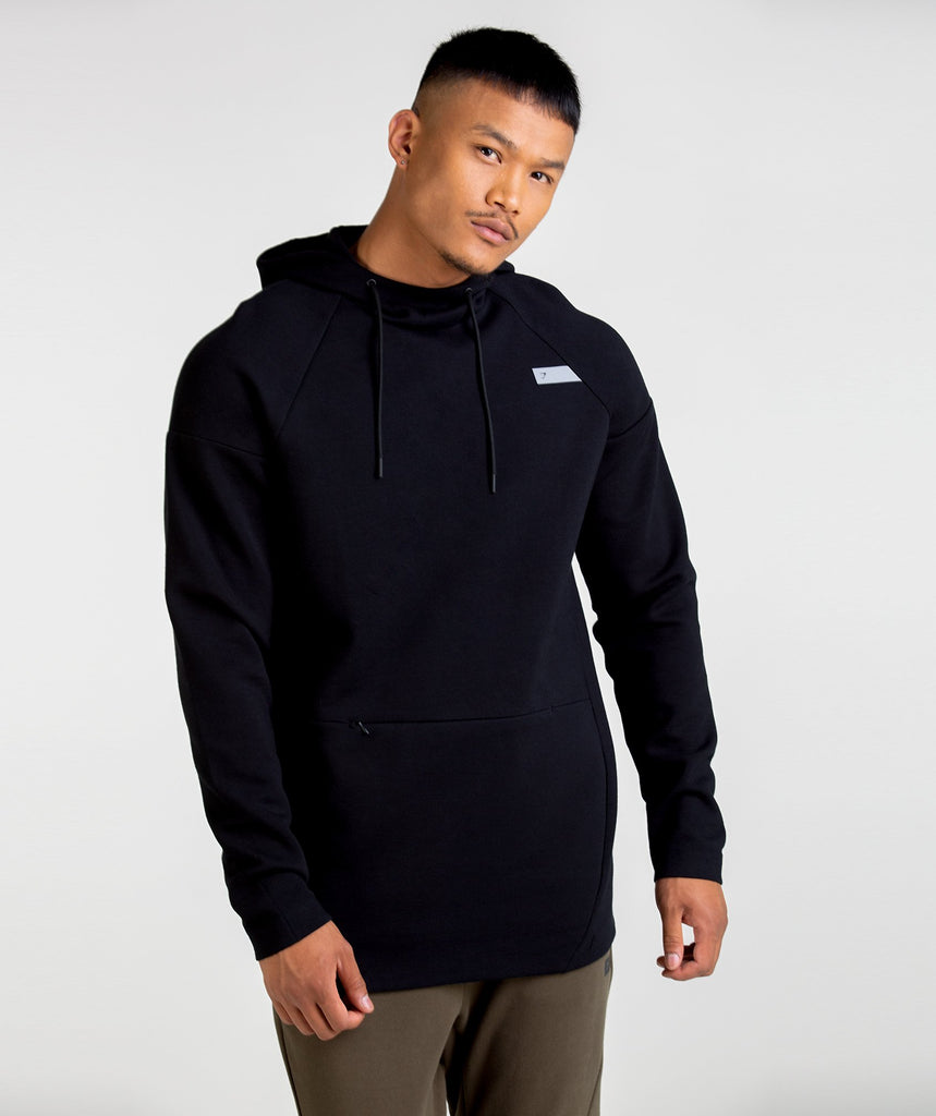 Gymshark Construction Pullover - Black 1