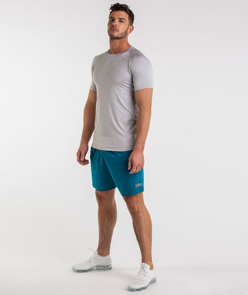 Gymshark Capital Shorts - Deep Teal 3