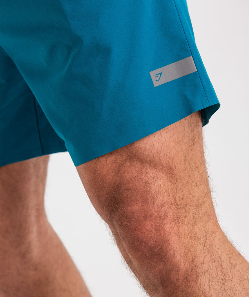 Gymshark Capital Shorts - Deep Teal 6