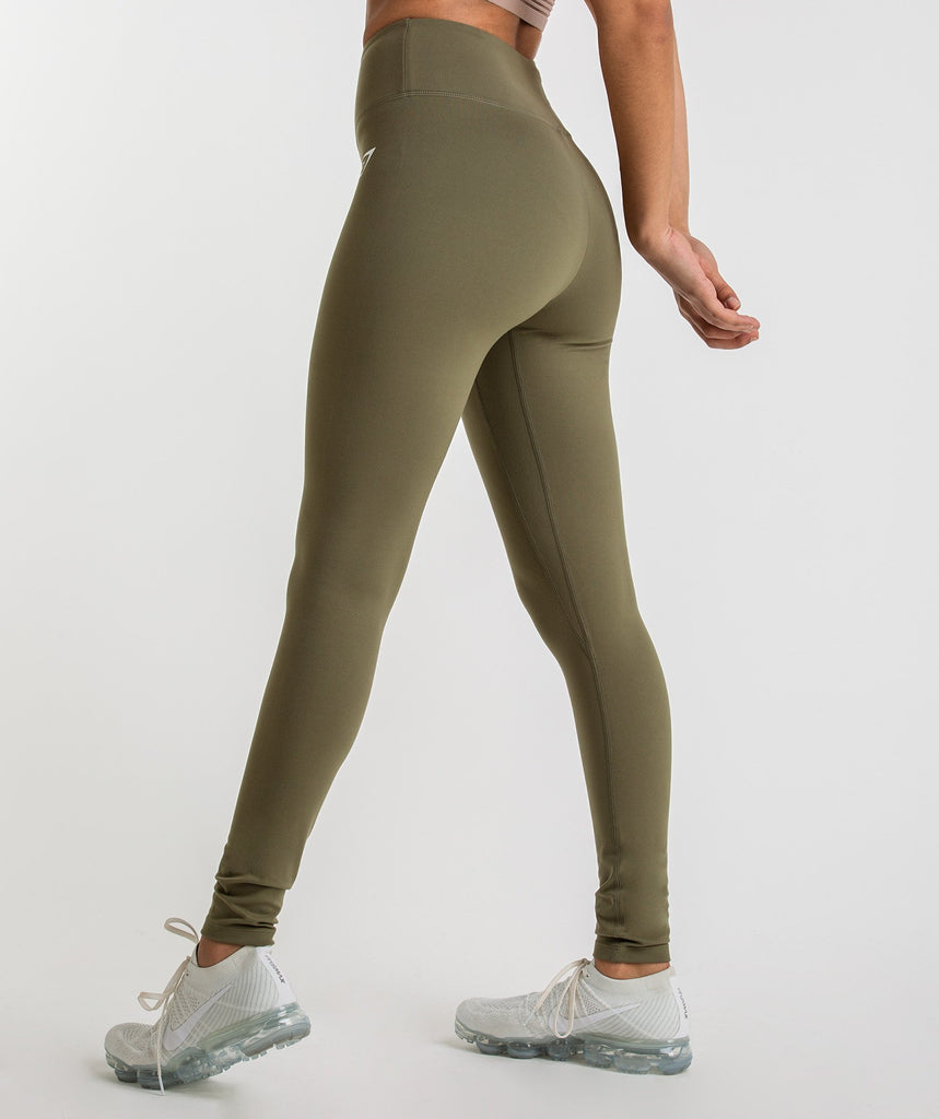 Gymshark Dreamy Leggings - Khaki 2