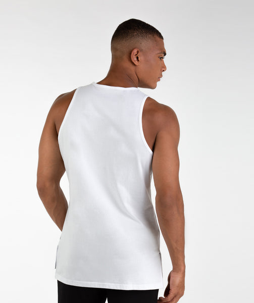 Gymshark City Tank - White 1