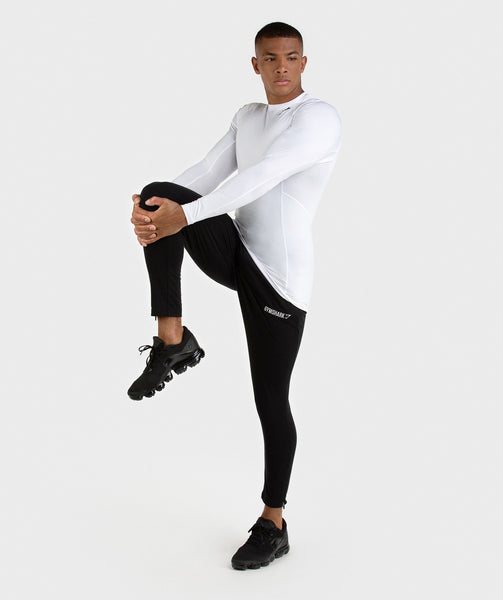 Gymshark Element Baselayer Long Sleeve Top - White 3