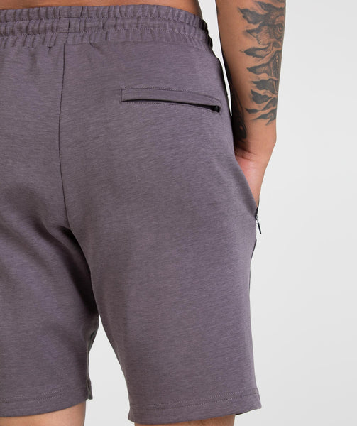 Gymshark Take Over Shorts - Slate Lavender Marl 4
