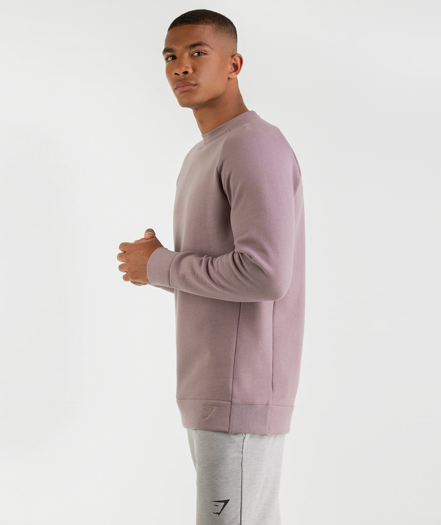 Gymshark Oversized Sweater - Purple Chalk 2