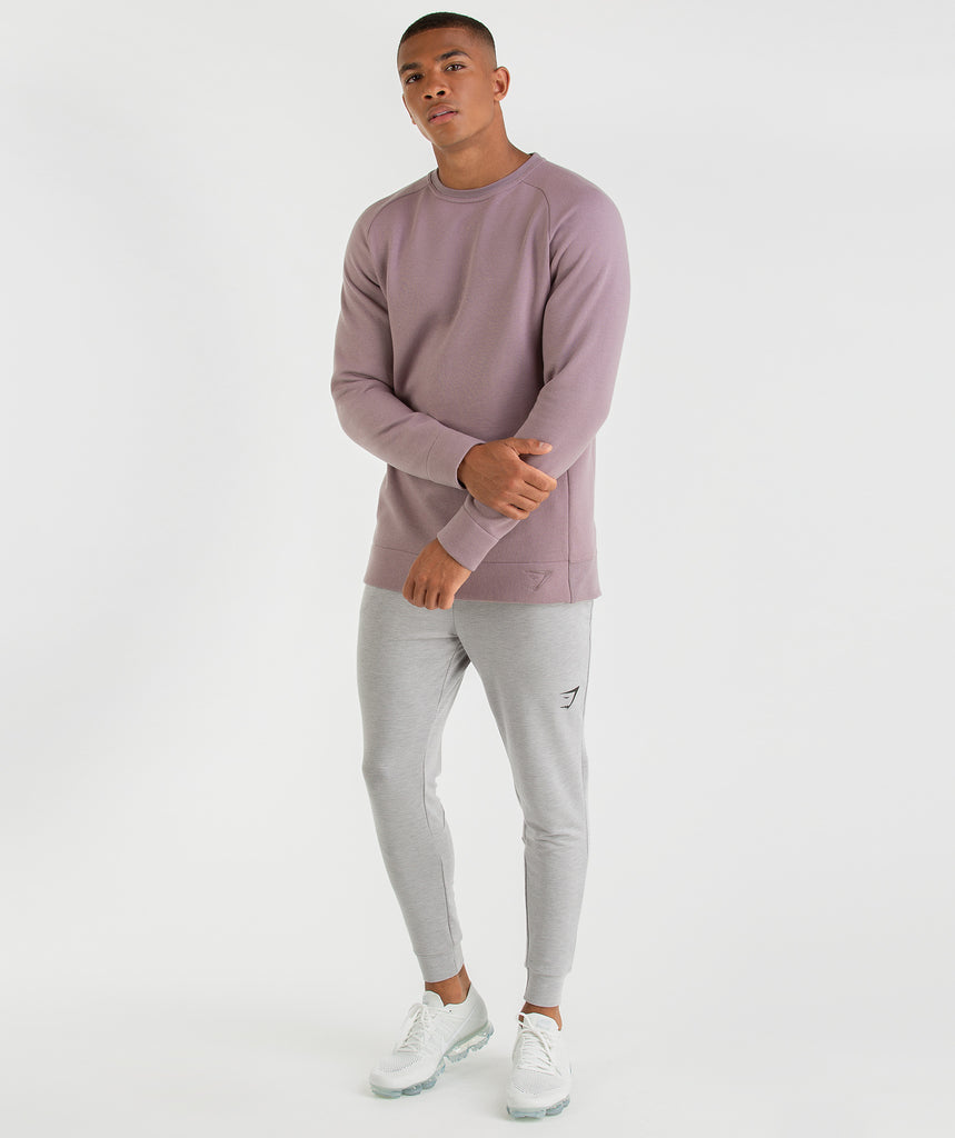 Gymshark Oversized Sweater - Purple Chalk 6