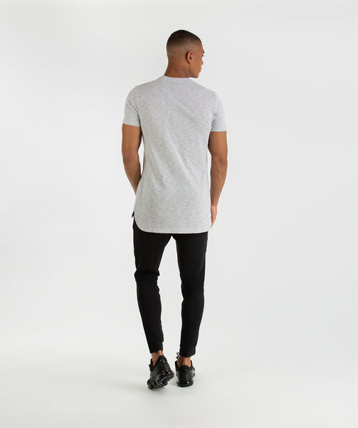 Gymshark Heather T-Shirt - Rustic Grey Marl 4