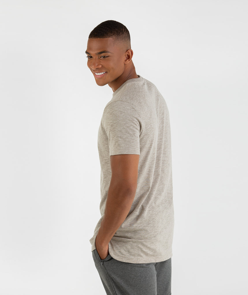 Gymshark Heather T-Shirt - Vintage Khaki 2