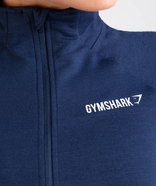 Gymshark Fit Pullover - Sapphire Blue 4