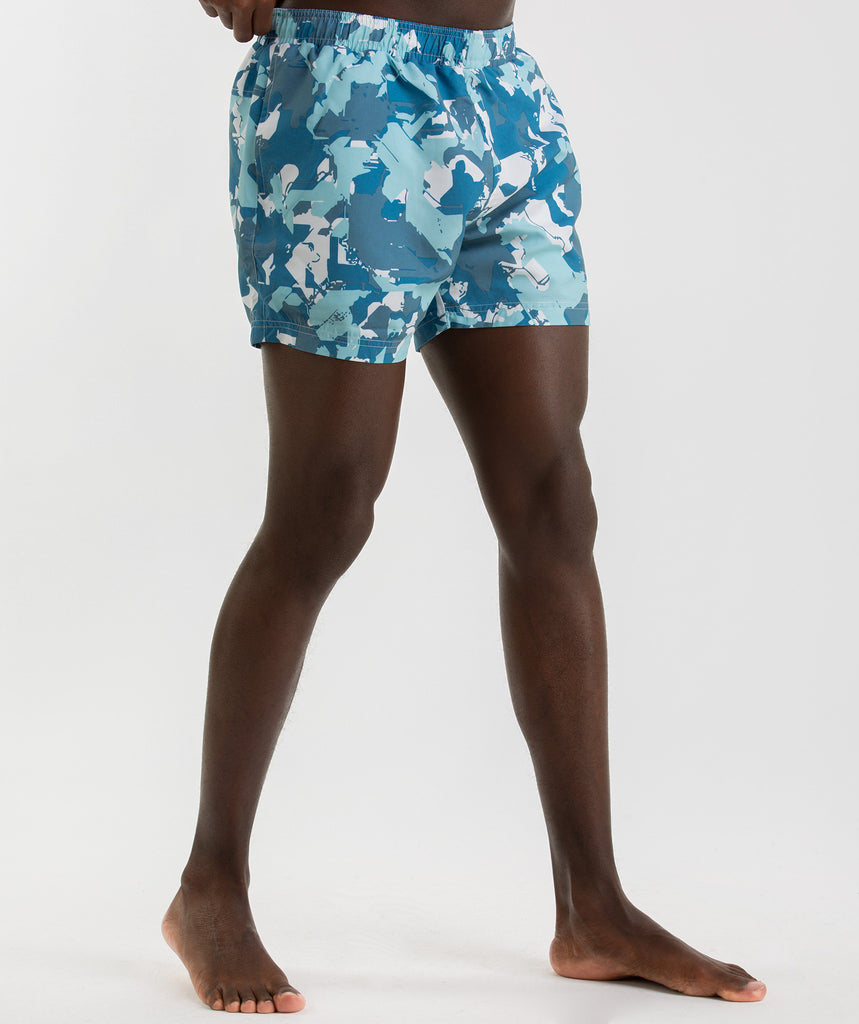 Gymshark Atlantic+ Swimshorts - Blue 1