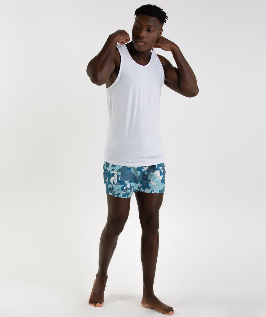 Gymshark Atlantic+ Swimshorts - Blue 6