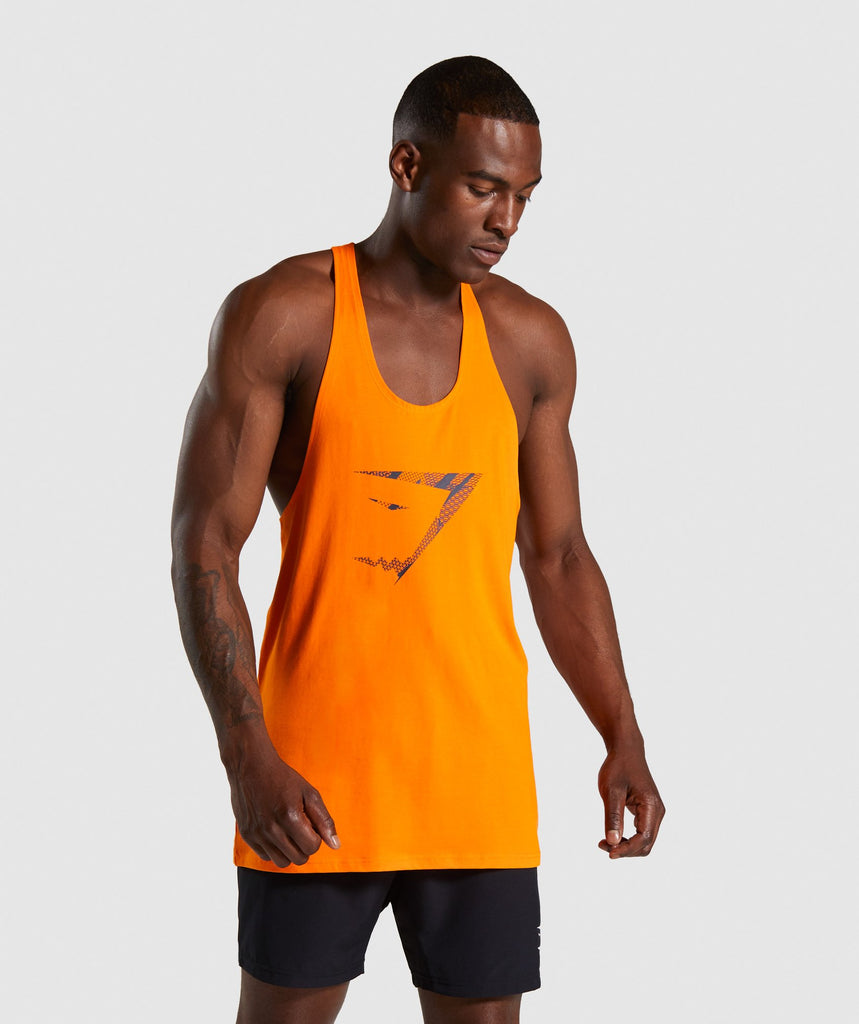 Gymshark Infill Stringer - Orange 1