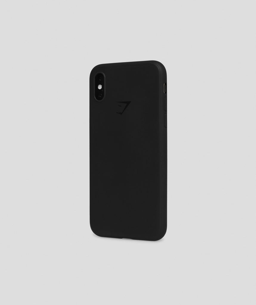 Gymshark iPhone XS Case - Black 1