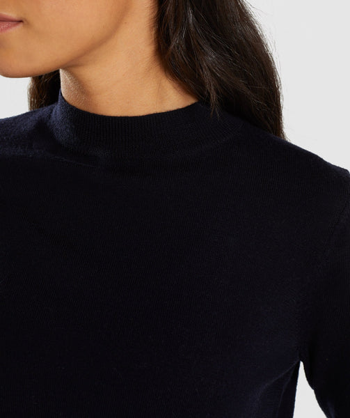 Gymshark Isla Knit Sweater - Black 4