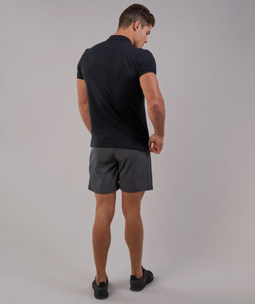 Gymshark Ace Polo - Black 1