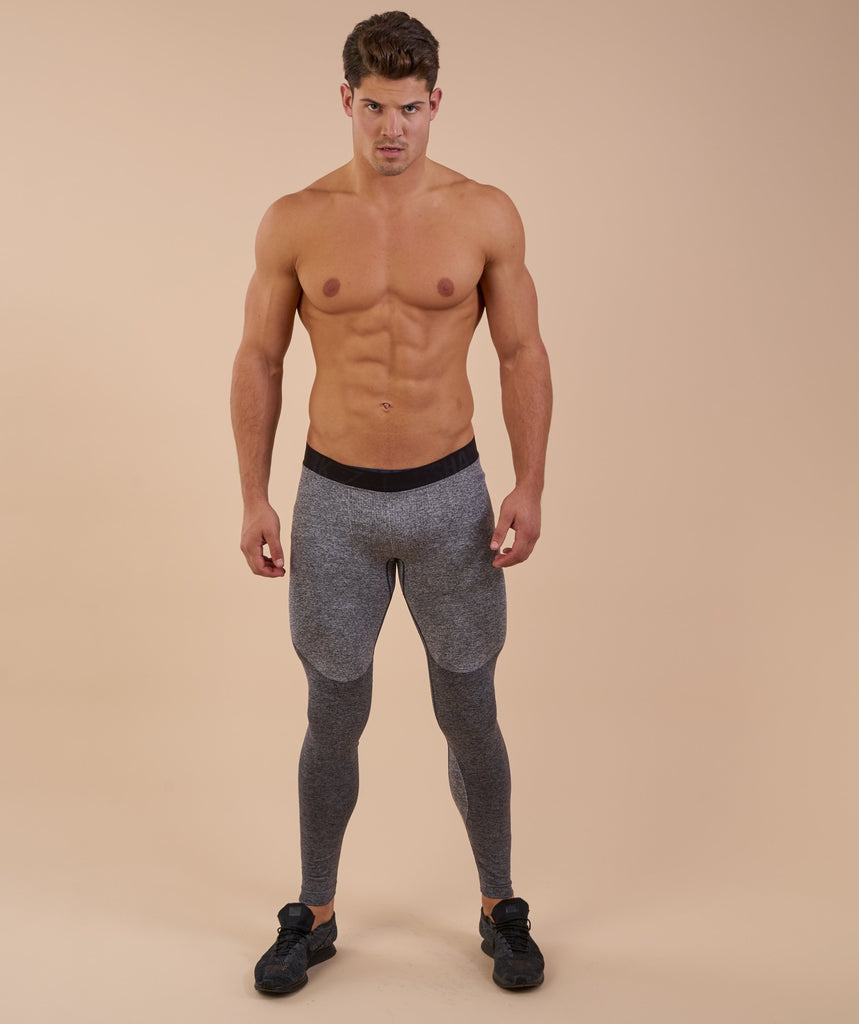 Gymshark Flex Leggings - Charcoal Marl 1