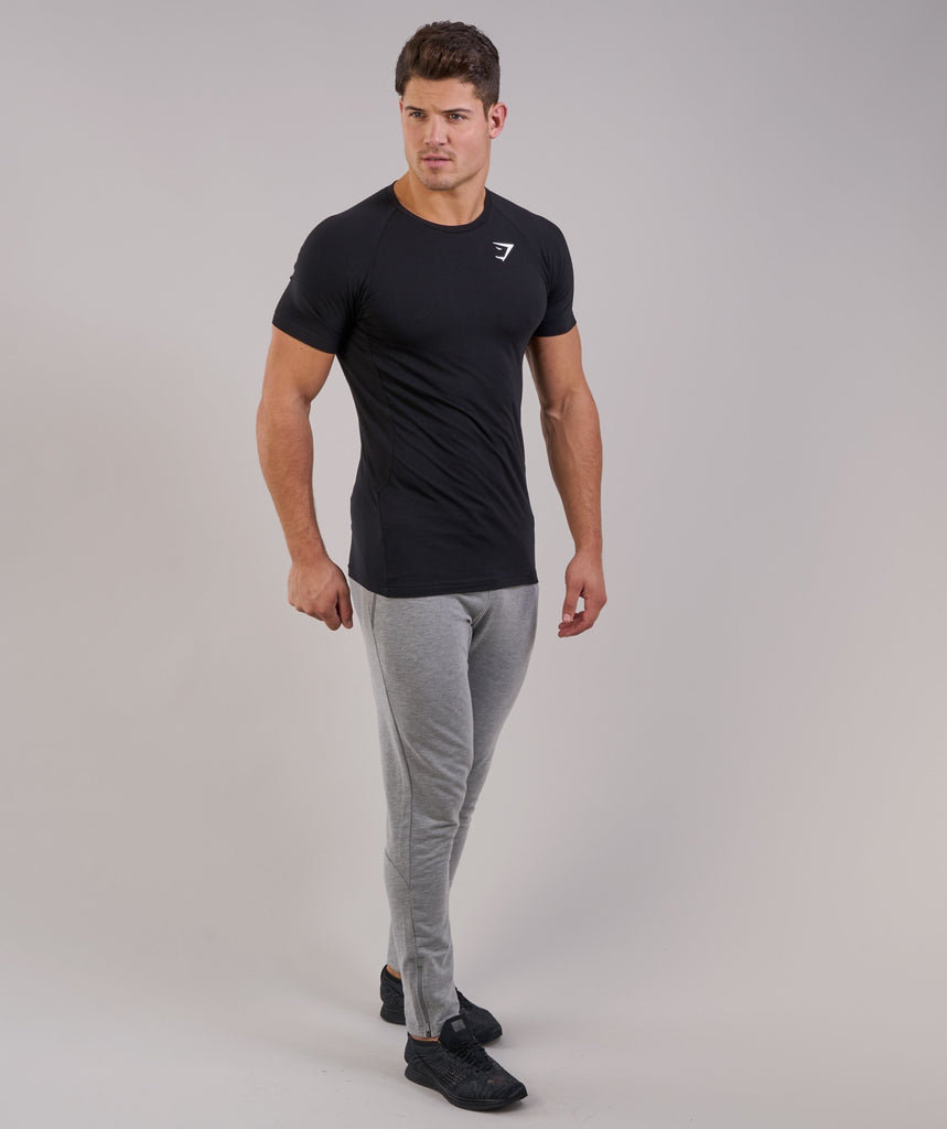 Gymshark Form T-Shirt - Black 1