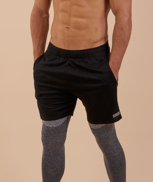 Gymshark Free Flow Shorts - Black 4