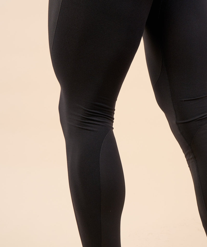 Gymshark Flex Leggings - Black Marl 5