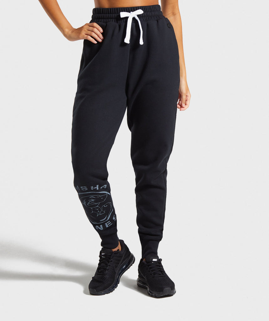 Gymshark Legacy Fitness Joggers - Black 1