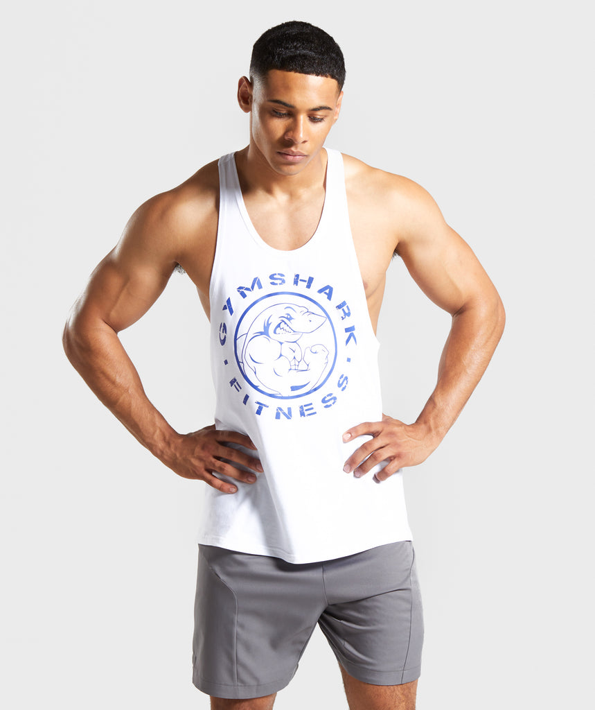 Gymshark Fitness Stringer - White 1