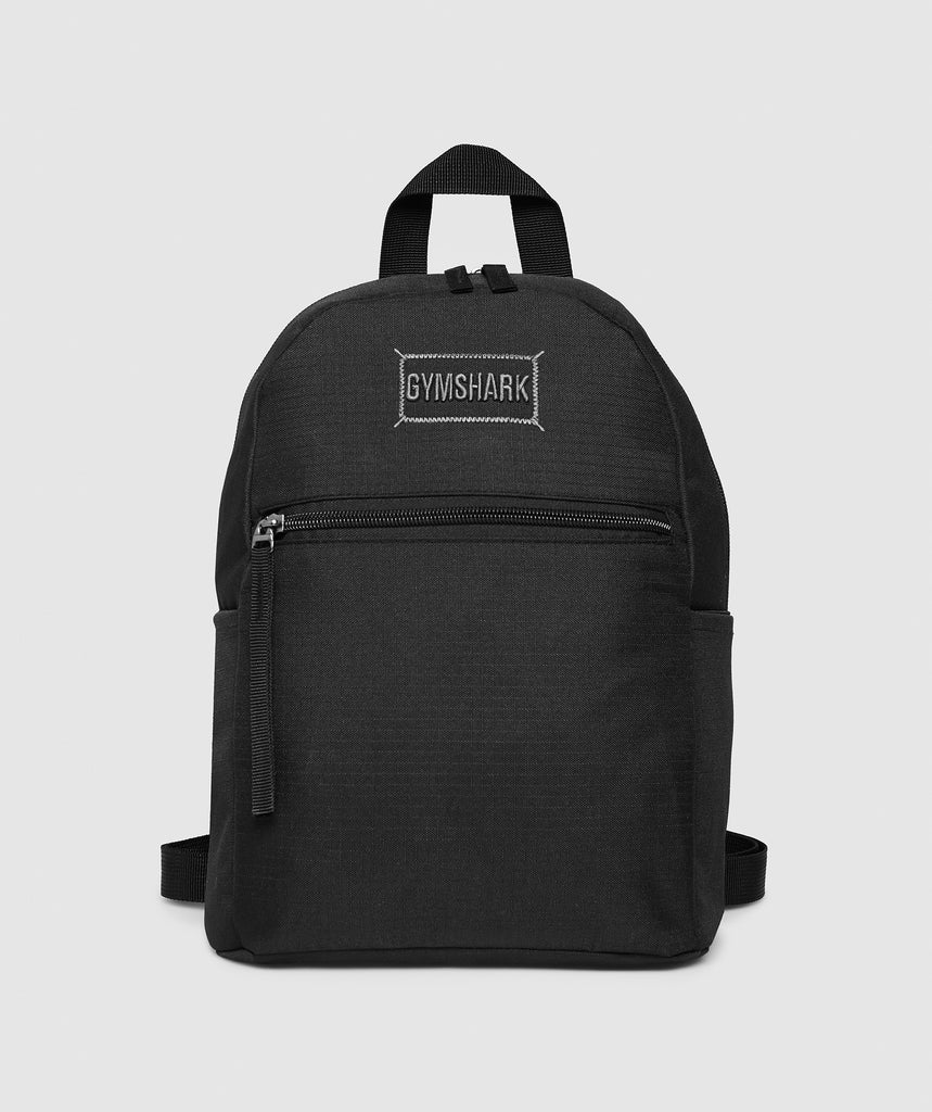 Gymshark Mini Lifestyle Backpack - Black 1