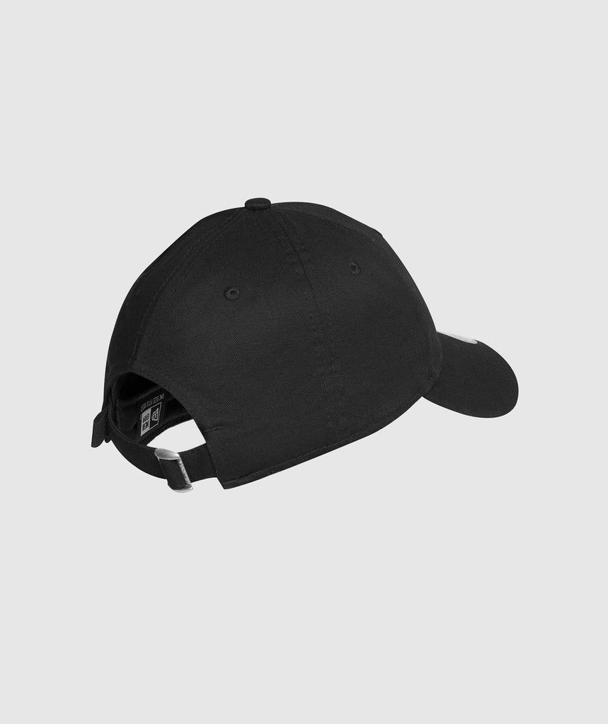 Gymshark New Era 9FORTY Adjustable- Black/White 2