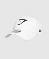 Gymshark New Era 9FORTY Adjustable- White/Black 7