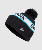 Gymshark New Era Bobble Beanie - Black/Gymshark Blue 5