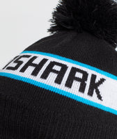 Gymshark New Era Bobble Beanie - Black/Gymshark Blue 7