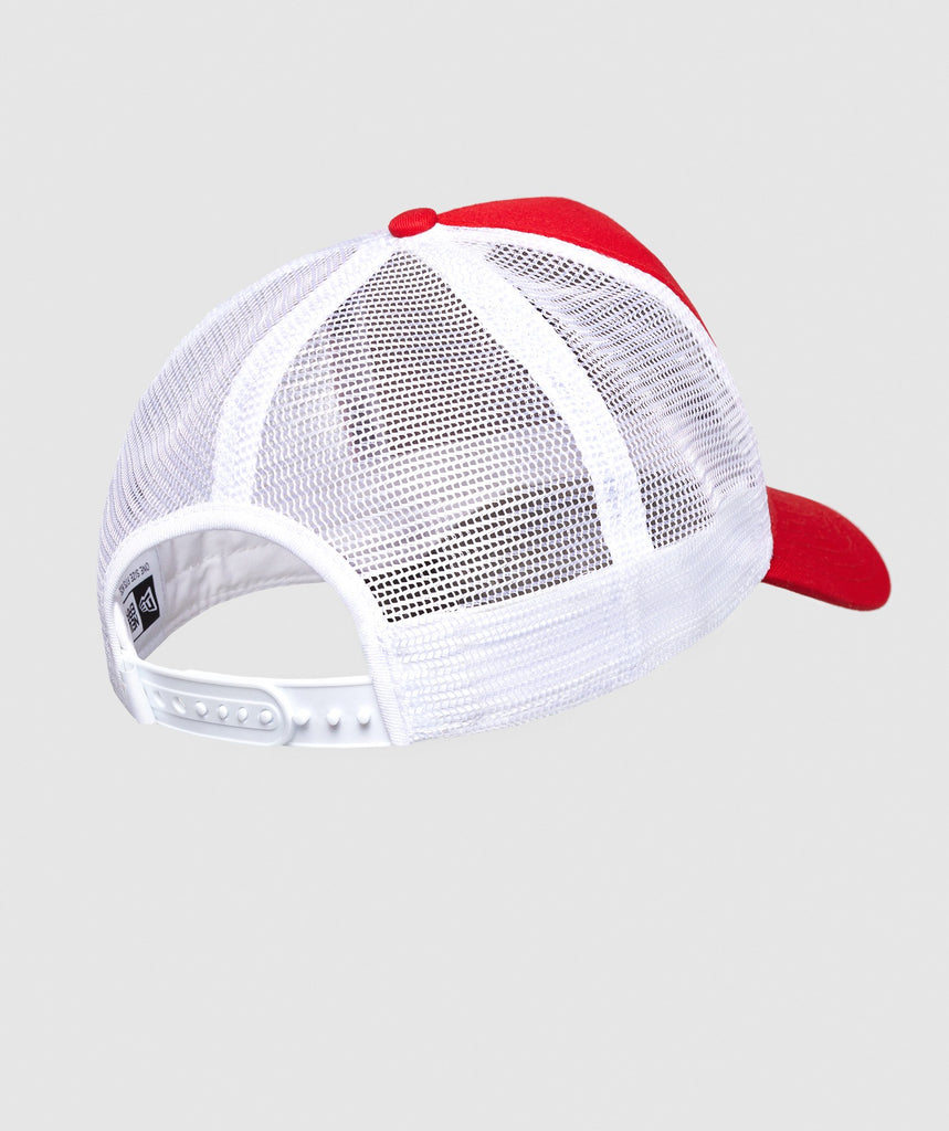 Gymshark New Era Mesh Trucker - Red 2