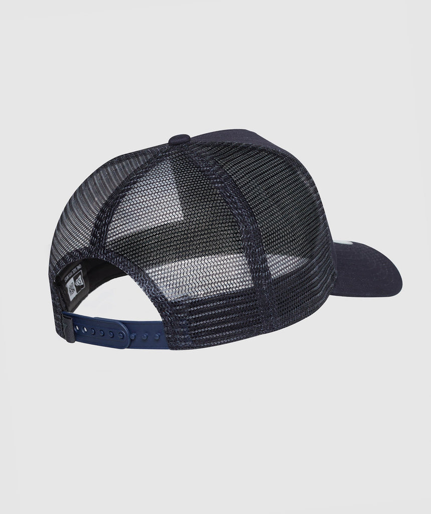 Gymshark New Era Mesh Trucker - Navy/White 2