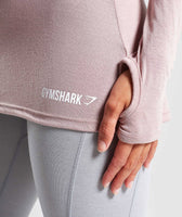 Gymshark Open Cross Back Long Sleeve - Taupe 11