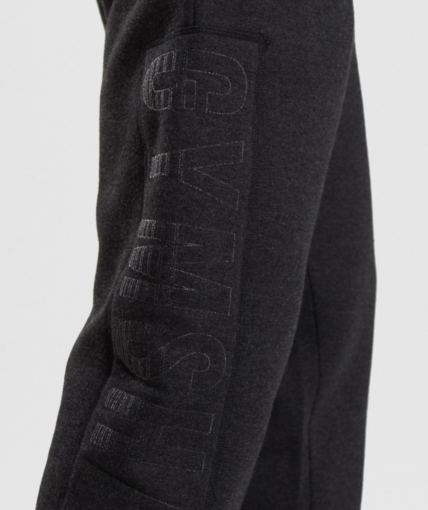 Gymshark Oversized Jogger - Charcoal Marl 6