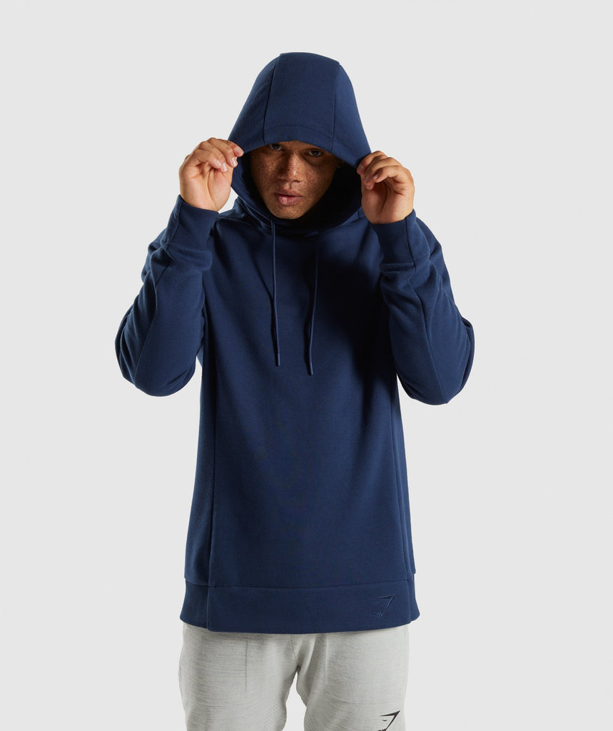 Gymshark Oversized Hoodie - Sapphire Blue 1