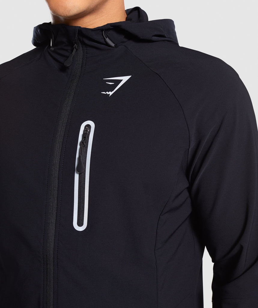 Gymshark Pace Running Jacket - Black 5
