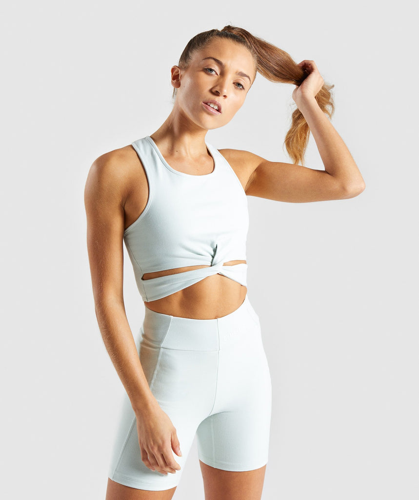 Gymshark Pastel Crop Top - Sea Foam Green 4