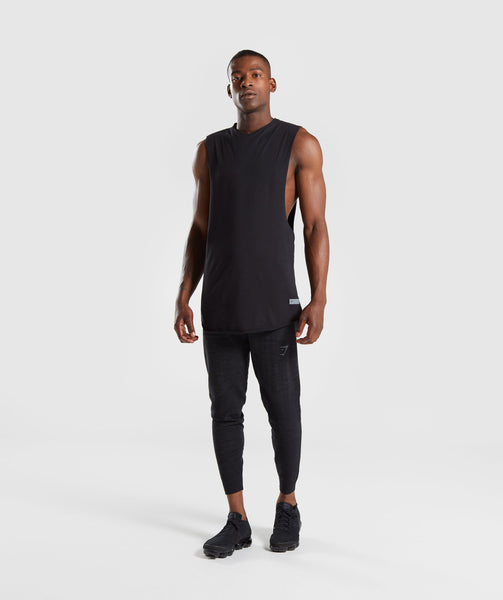 Gymshark Pinnacle Knit Joggers - Black Marl 3