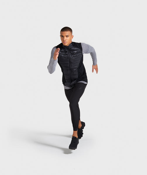 Gymshark Power Lightweight Gilet - Black 2