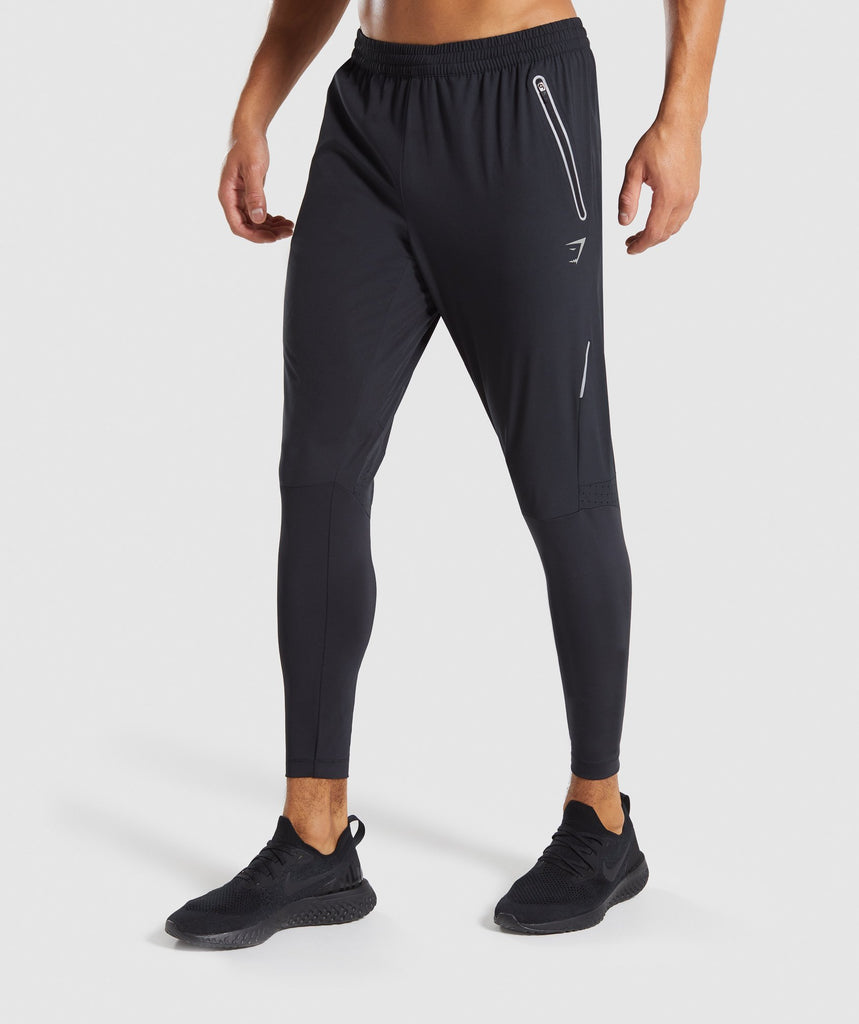 Gymshark Precision Bottoms - Black 4