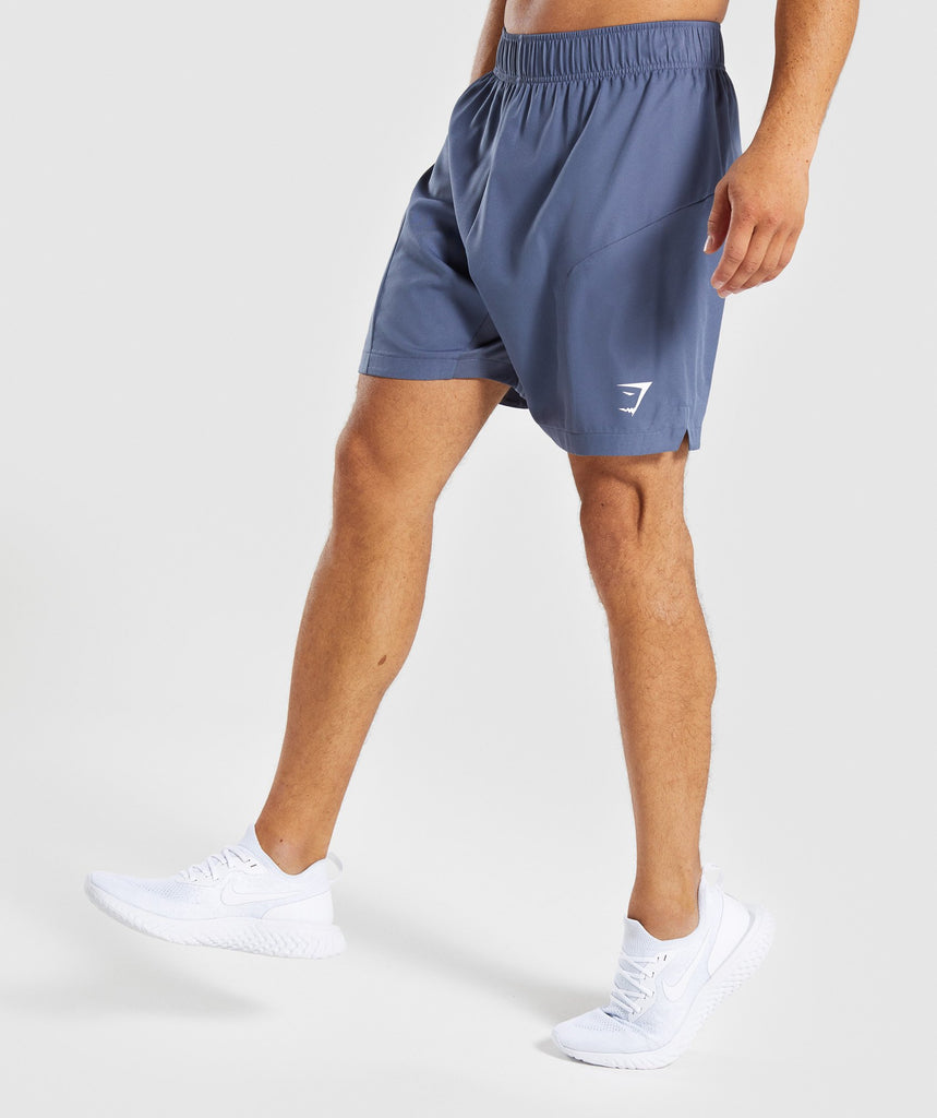 Gymshark Primary Shorts - Aegean Blue 1