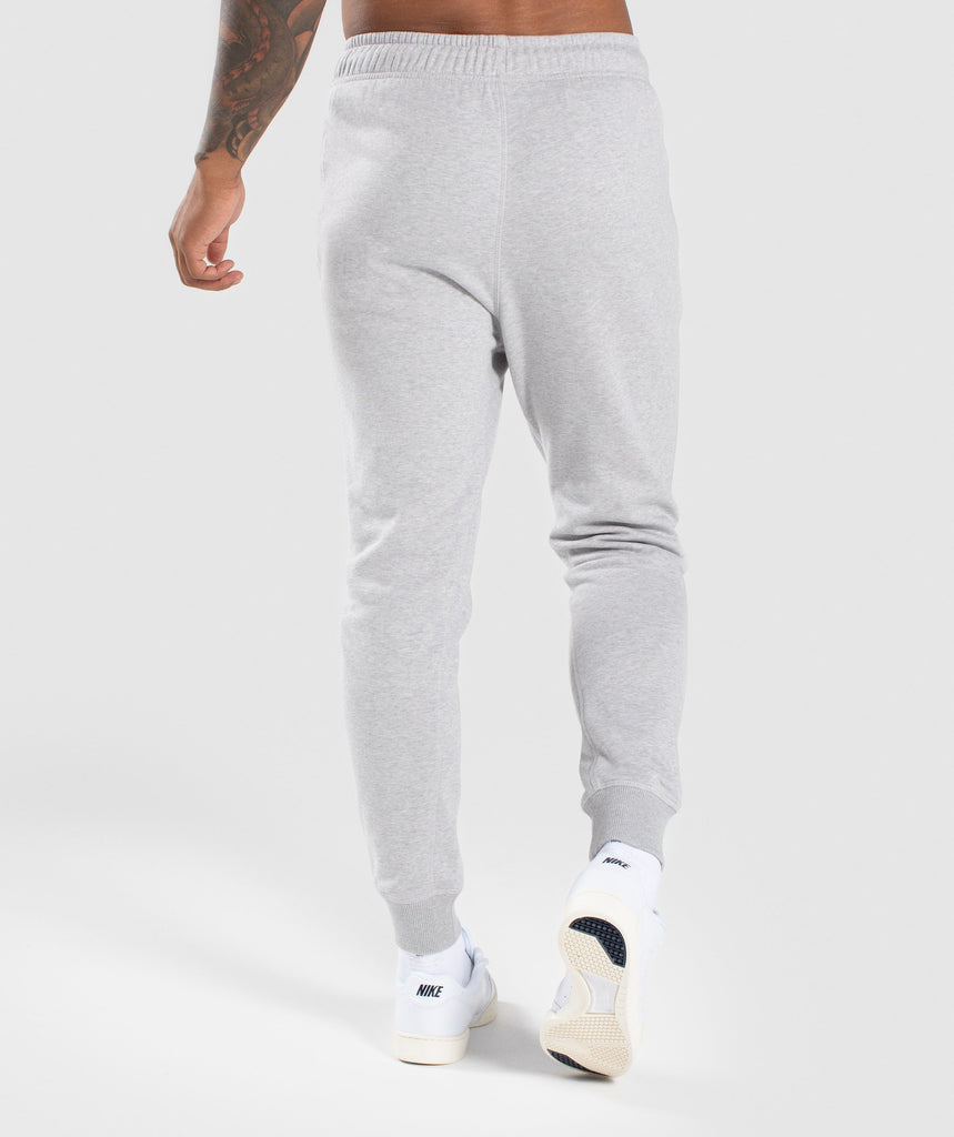Gymshark Principle Bottoms - Light Grey Marl 2