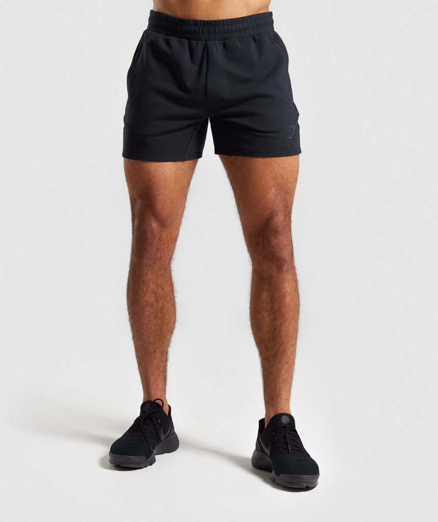 Gymshark Raw Shorts - Black 1