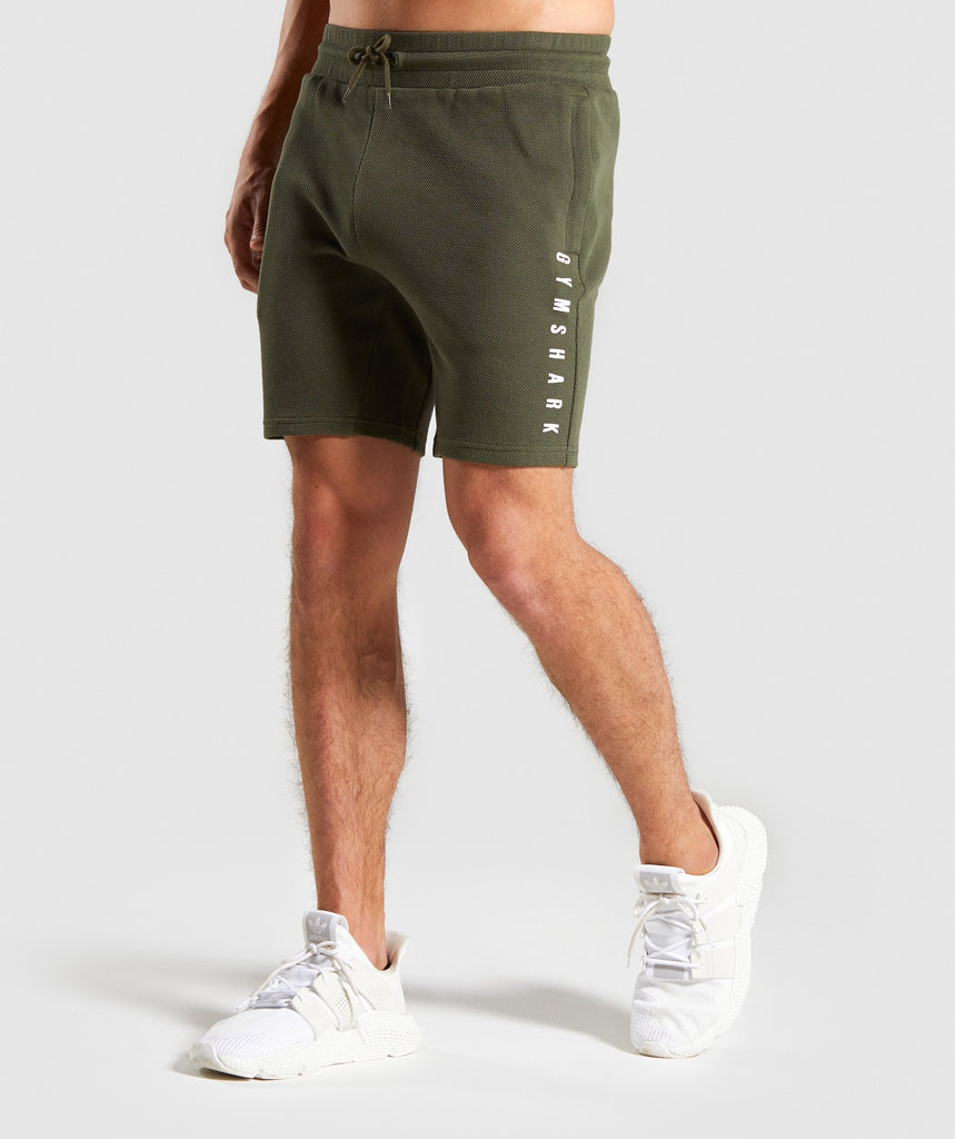 Gymshark Recharge Shorts - Green 1