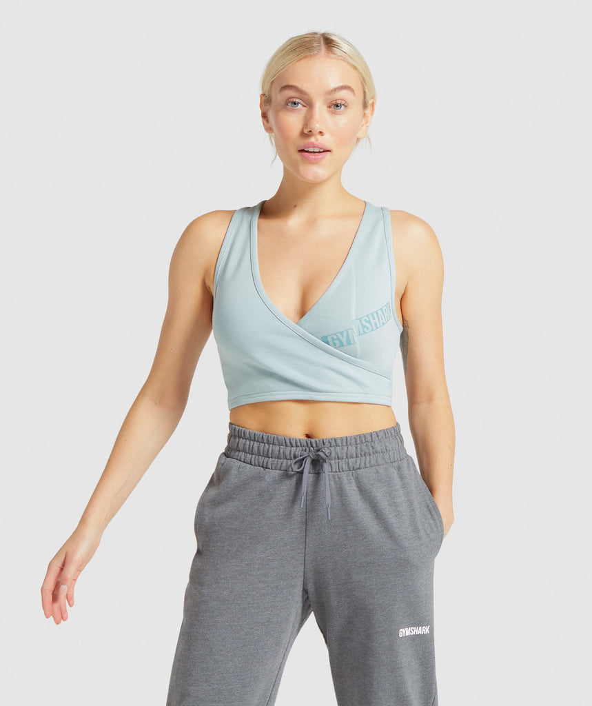 Gymshark Rewind Bralette - Light Green 1