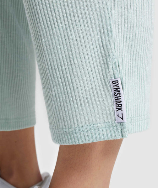 Gymshark Relaxed Joggers - Washed Green 4