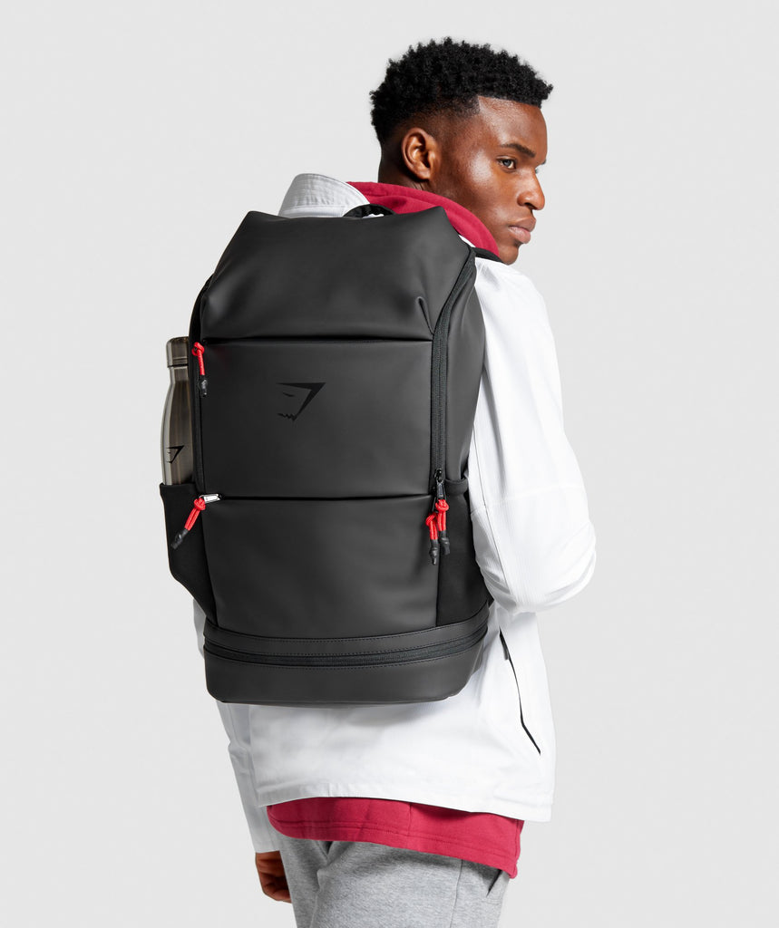 Gymshark Sleek Backpack - Black 1