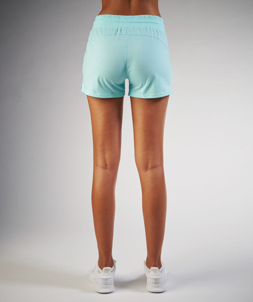 Gymshark Slouch Short - Pale Turquoise Marl