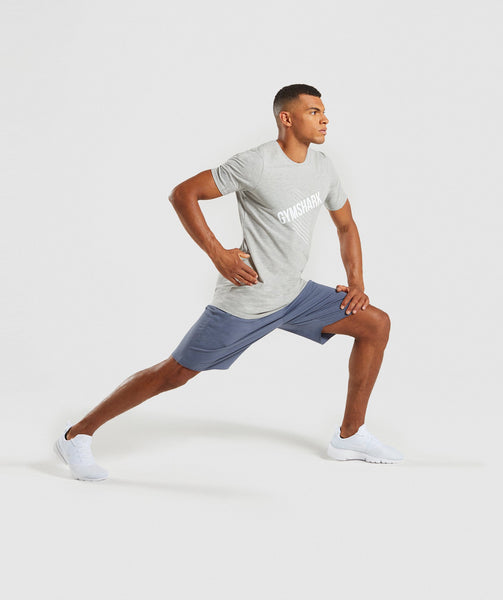 Gymshark Score T-Shirt - Light Grey Marl 3